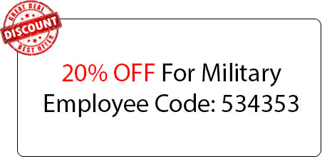 Military Employee Coupon - Locksmith at Westmont, IL - Westmont Il Locksmith